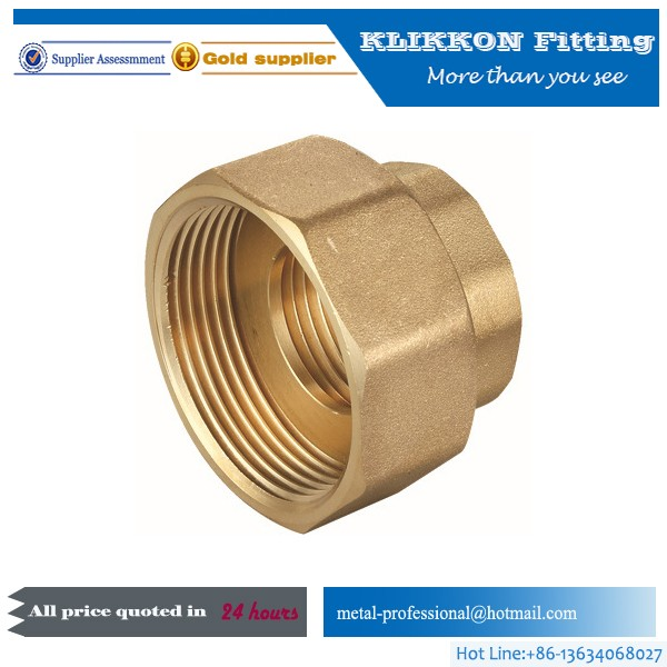 Plated Metric Brass Plumbing Fittings