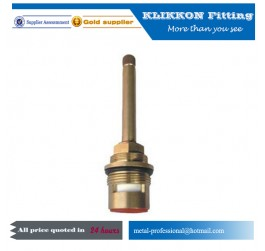 Brass faucet valve ceramic cartridge