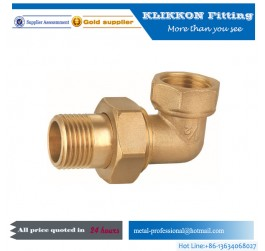 Chrome Plated Brass Twin Ferrule Tube Fittings