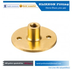"OEM G2 1/2"" Flange Brass Fittings for Adapter Solder Connection"