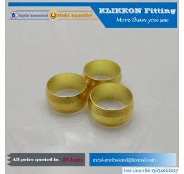 brass double ferrules compression fittings