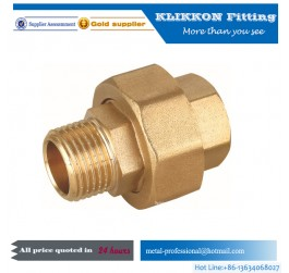 Good Quality Brass Npt Thread Nipple Pipe Fitting