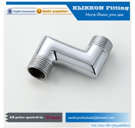 Pipe Fittings Chrome Plated Brass Extension Fitting