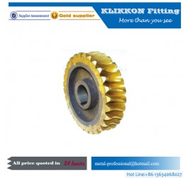cnc bronze worm steel worm worm wheel