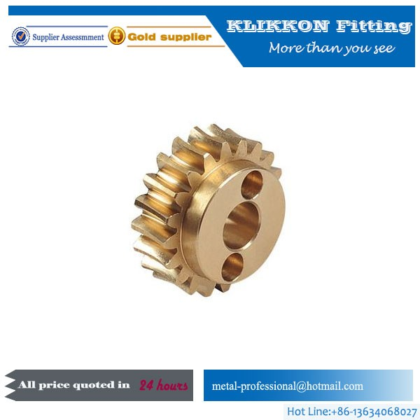 Customized Copper Worm Gear for Metallurgical machinery