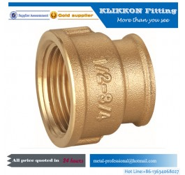 Brass Male Press Pipe Fitting Coupling