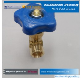gas burner high pressure brass safety relief valve