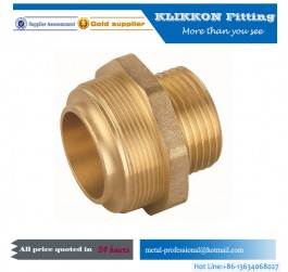 Male Female parker brass fittings for water system