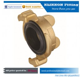 brass hydraulic quick release coupling fittings