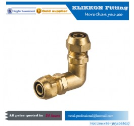 Lead free brass inverted flare fittings