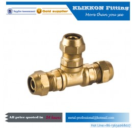 brass compression fitting female elbow 90 degree fitting