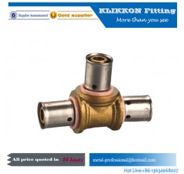 "1/2"" brass lead free Copper Tubing Fittings"