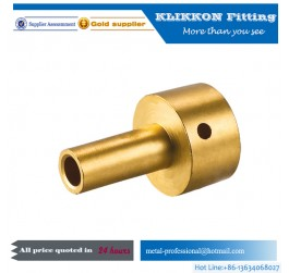 1/8 1/4 3/8 5/8 1/2 3/4 1'' 2'' Brass Nipple Plumbing Fittings
