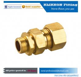 "3/16 3/8"" x 3/4"" x 1/4"" nptf male ss threaded compression fittings"