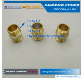 brass compression fitting female coupling pipe fitting tube fitting