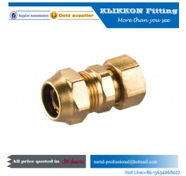 Stainless steel brass 5/16 compression ferrule tube fitting