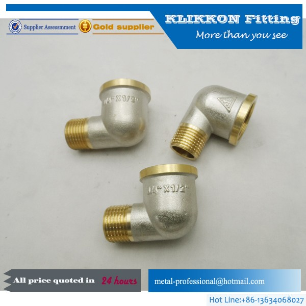 Eaton Weatherhead 39X6 Brass CA360 SAE 78 Degree fitting