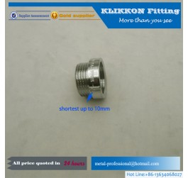 "1/4"" NPT Female to 1/8"" NPT Male Extruded Reducer"