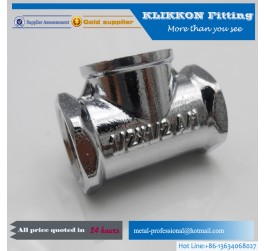 Chrome Plated Brass Pipe Fittings