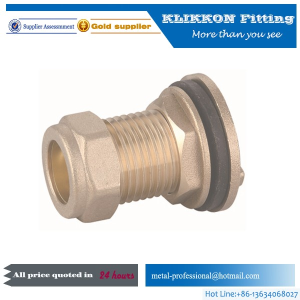 high pressure stainless steel or brass hex equal fitting