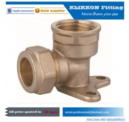 1/2 Inch Lead Free Brass Threaded Pex Coupler Pipe Fittings
