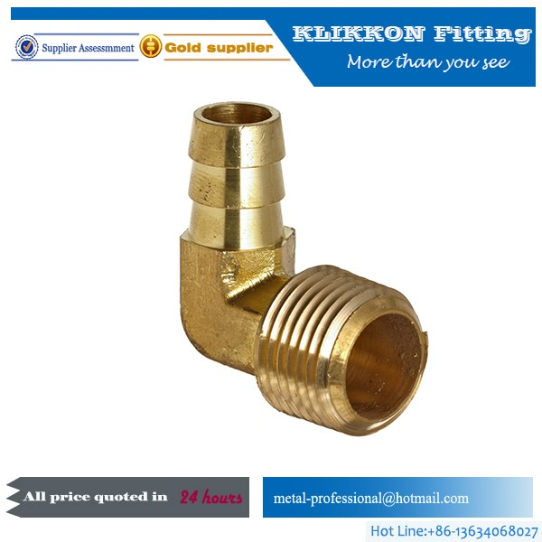 32mm high quality brass elbow 90 plumbing fitting