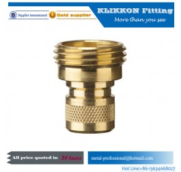 brass 1/8 npt 37 degree large hex union fittings