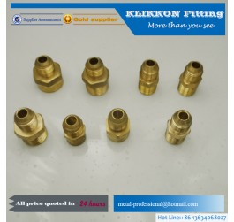 Brass Nut thread inverted flare fitting
