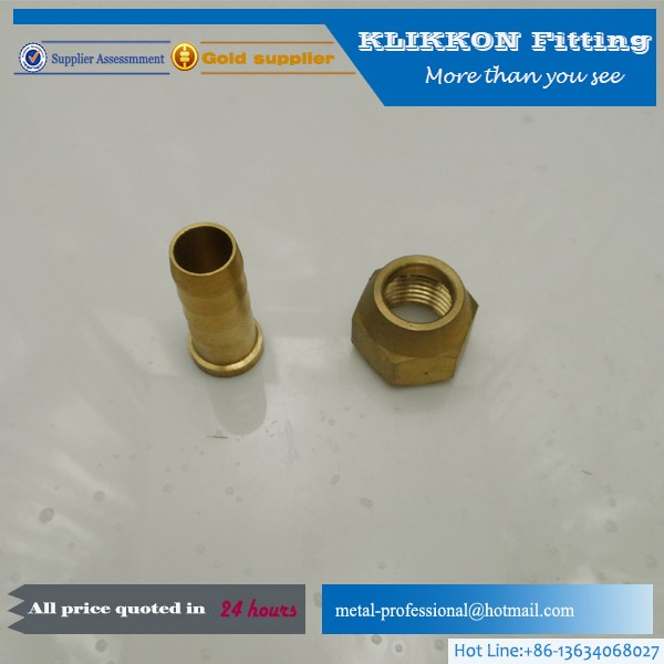 M12 air hose fittings 12*9 brass fittings