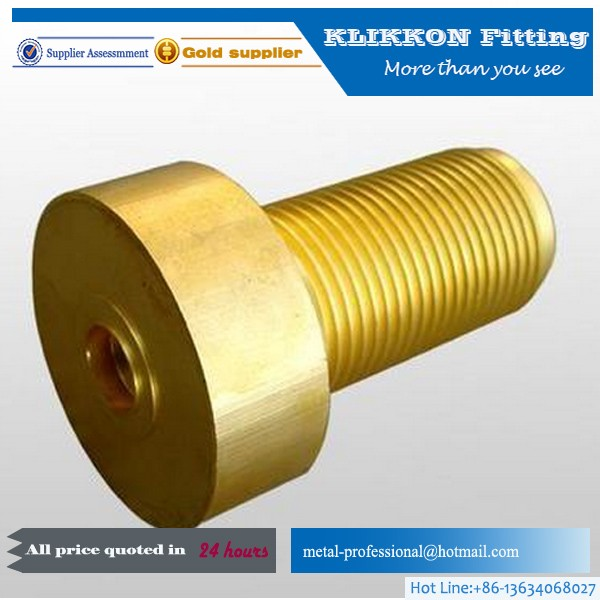 Bspt/npt brass plumbing fittings threaded adapters
