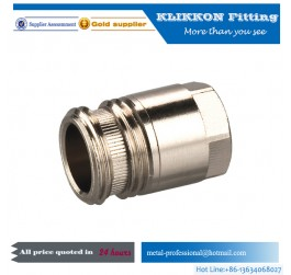 gas hose connector/stainless gas connect fitting