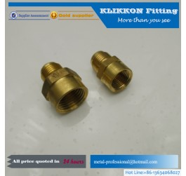 NPT Female Coupling Brass hydraulic hose pipe fittings