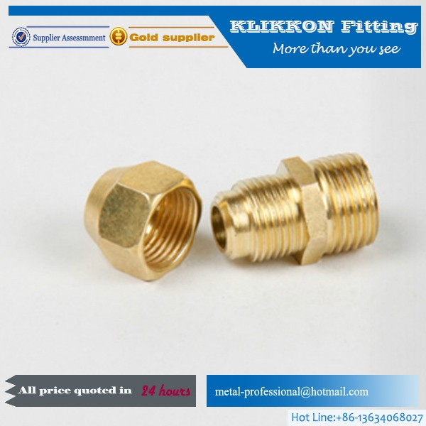brass Copper Steel Sanitary Clamp Ferrule In Pipe Fitting