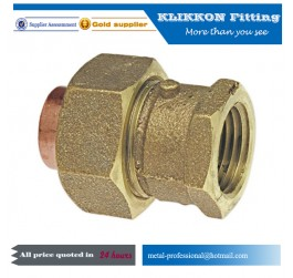 Small Miniature Red Brass Tee Water Pipe Fittings