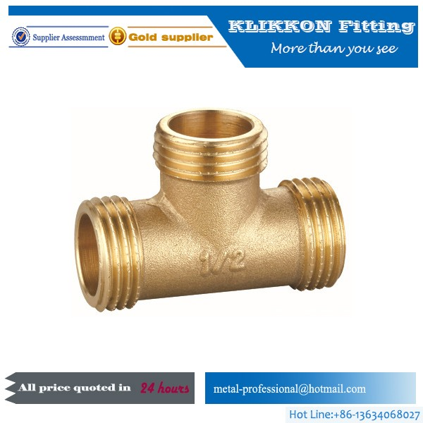 Brass male hose barb tube fitting/gas hose fitting