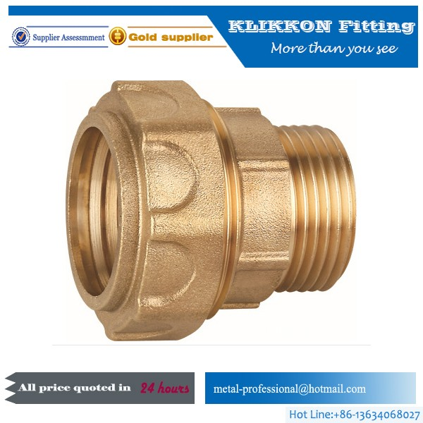 CR-509 low price tube connector brass barb hose fitting