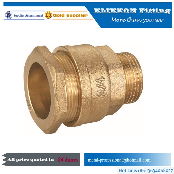brass hydrualic elbow/bulkhead fitting/Hydraulic Fittings