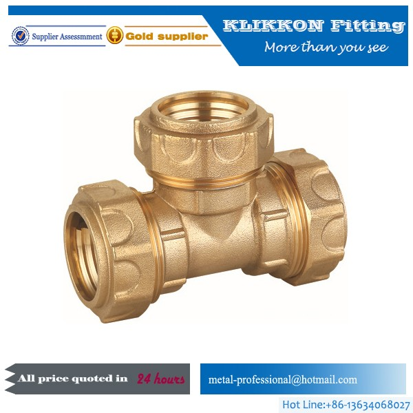 Brass PPR / CPVC / UPVC Insert pipe fittings