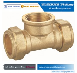 China threaded brass pipe fittings