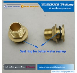 NPT Female Coupling Brass pipe fittings