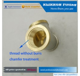 Good quality copper hydraulic pipe fitting