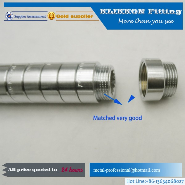 High quality and precision brass hose barb