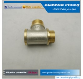 C44 weatherhead brass tee fittings