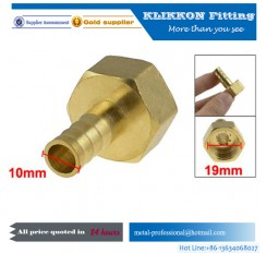 china Equal reduced Brass hose compression fittings