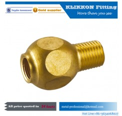Nipple elbow tee flare nut barb type Brass hose fittings compression