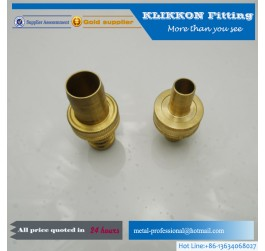 china Straight Brass Compression Fitting For Copper Pipe