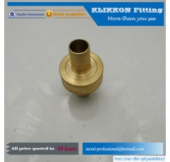 "5/16"" Brass Barbed Y Fitting 3 Way Fuel Hose Joiner"