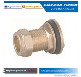 brass barb fittings Threaded Hex Head Plug