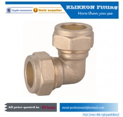 brass 90 degree elbow fittings for tool turned parts