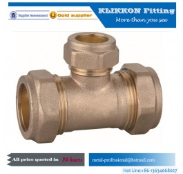 Hot sale Brass press fitting for pex al pex pipe